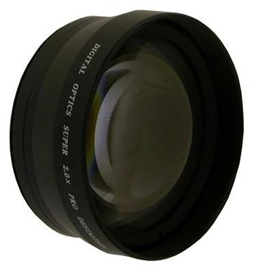 Professional 2x Telephoto Lens Converter - for 62mm threading