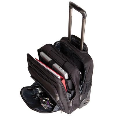 Mobile Max Tall Wheeled Case for 17.3-Inch Laptops - C9035