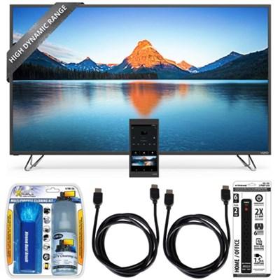 M50-D1 - 50-Inch 4K SmartCast HDR Ultra HD TV Essential Accessory Bundle