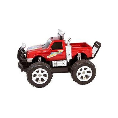 Land and Sea Remote Control Truck with LED Lights (Red) - ODY-1024R