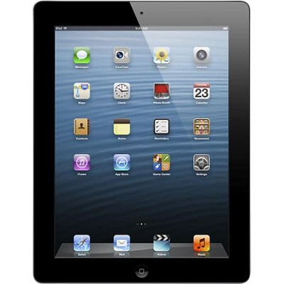 iPad 4 with Wi-Fi 32GB - Black (Model: MD511LL/A) - REFURBISHED