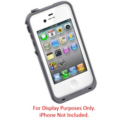 Waterproof Shockproof and Dirtproof iPhone Case for the iPhone 4S/4 - White