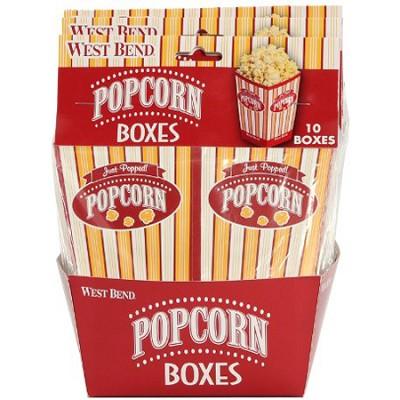 PC10663 Popcorn Pop-Up Boxes, set of 10