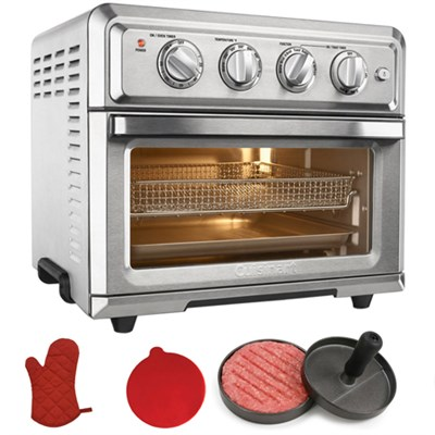 Convection Toaster Oven Air Fryer with Super Chef Bundle