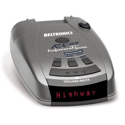 RX65 Red Professional Series Radar/Laser Detector