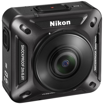KeyMission 360 4K Ultra HD Action Camera with Built-In Wi-Fi Kit 3