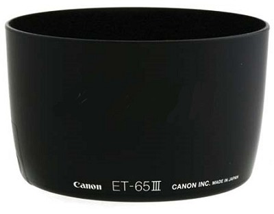 ET-65III Lens Hood for EF 85mm f/1.8, 100mm f/2.0, 135mm f/2.8 SF & 100-300mm