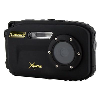 Xtreme C5WP 12MP 33ft. Waterproof Camera, Anti-Shake,(Black) OPEN BOX