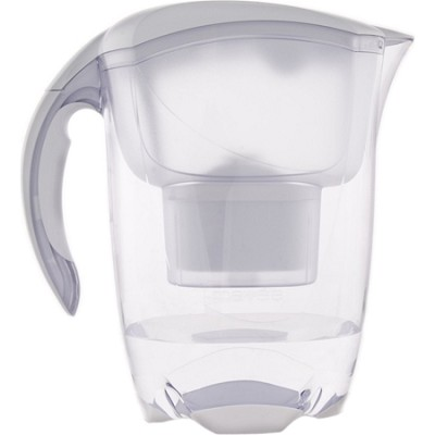 Elemaris Water Filtration Pitcher - White