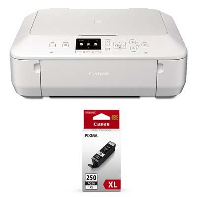 PIXMA MG5620 Color Wireless Photo All-in-One Inkjet White Printer XL Ink Bundle
