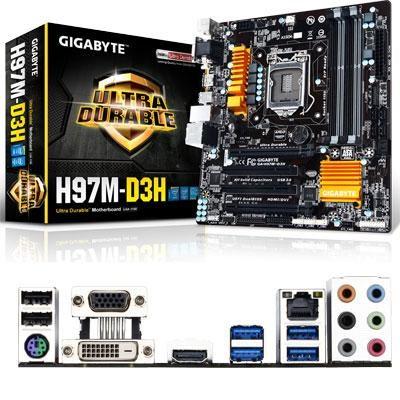 Intel H97 Micro ATX  Motherbrd