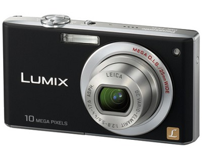 DMC-FX35K - Slim Compact 10 Megapixel Digital Camera (Black) w/ 2.5- inch LCD