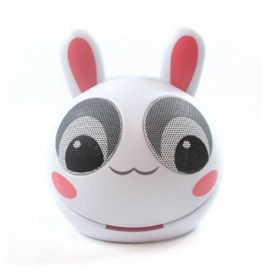 Portable Mini Character Speakers for iPod/iPhone/iPad/MP3 - Rabbit