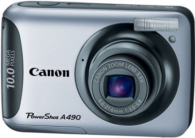 PowerShot A490 (Silver) 10 Megapixel Camera Refurbished