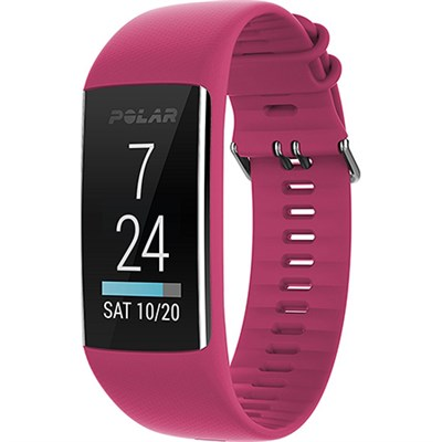 A370 Fitness Tracker with 24/7 Wrist Based HR Ruby Small (90070094)