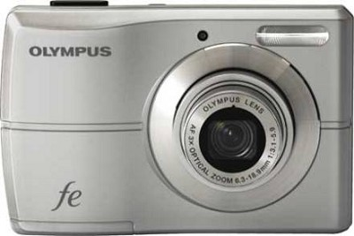 FE-26 12MP Digital Camera w/ 3x Optical Zoom, 2.5 inch LCD (Silver)