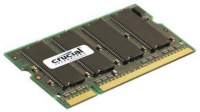 512MB 200-pin SODIMM DDR PC-2700 Unbuffered Non-ECC