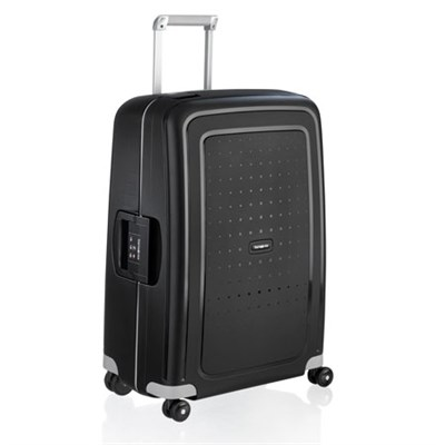 S'Cure 28` Spinner Luggage - Black - OPEN BOX