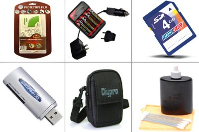 Platinum Accessory Kit for Powershot A1000, A2000, SX110 & Similar