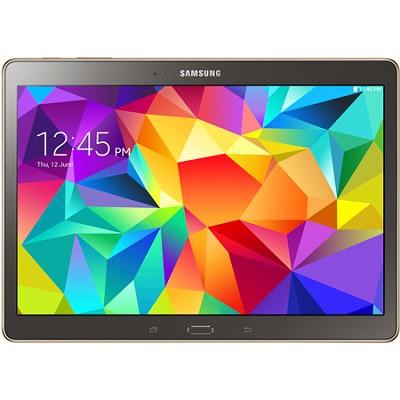 Galaxy Tab S 10.5` Tablet - (16GB, WiFi, Titanium Bronze) - OPEN BOX