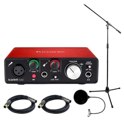 Scarlett Solo USB Audio Interface (2nd Generation) w/ Pro Tools