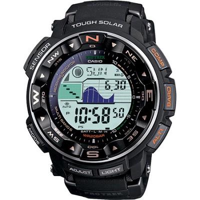 PRW2500-1 - Pathfinder Triple Sensor Tough Solar Digital Mutli-Function Watch