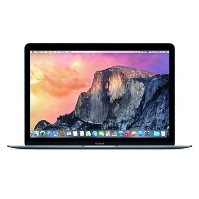 MacBook 5JY32LL/A 12` Laptop with Retina Display 256 GB, Space Gray - OPEN BOX
