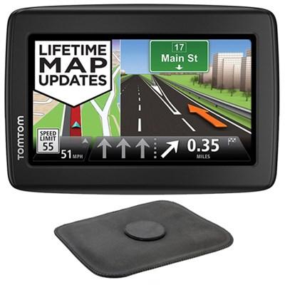 VIA 1515M Automotive GPS Navigation Device + Portable GPS Dash Mount