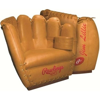 Baseball Heart of the Hide Premium Leather Glove Chair - M16100