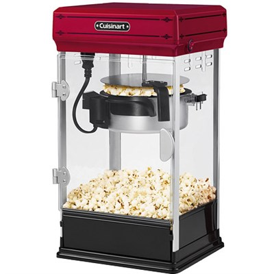 CPM-28 Classic-Style Popcorn Maker, Red
