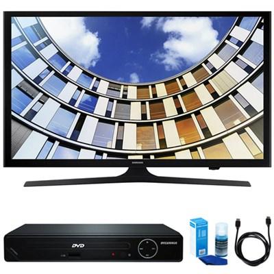 Flat 40` LED 1920x1080p 5 Series Smart TV w/ HDMI DVD Player Bundle