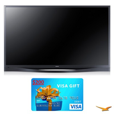 PN64F8500 64` 1080p 3D WiFi Plasma HDTV Bundle