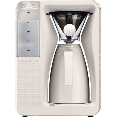 Bistro Electric Pour Over Coffeemaker - White
