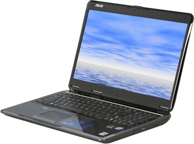 F50SV-A2 16-Inch Notebook, 2.4 GHz Intel, 4GB RAM, 320GB HD