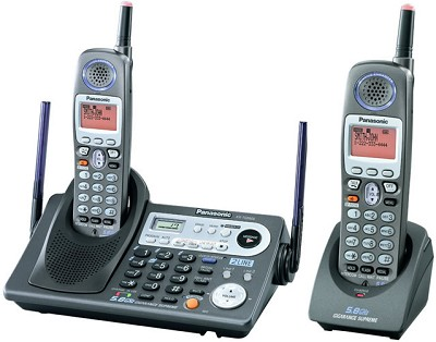 KX-TG6502B 5.8GHz 2 Line Expandable Phone with Extra Handset (1 Base+2 Handsets)