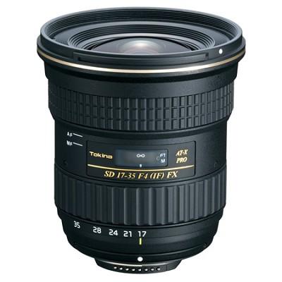 AF 17-35mm f/4.0 PRO FX Wide Angle Lens for Canon - Black