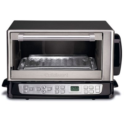 Convection Toaster Oven Broiler Chrome (Certified Refurbished)