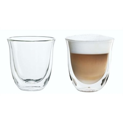 Double Walled Thermo Cappuccino Glasses, Set of 2