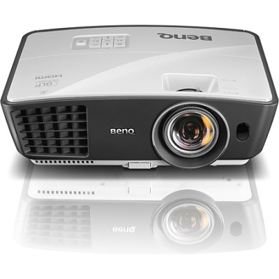 W770ST Short Throw 3D 720p HD DLP Home Theater Projector Factory Refurbished