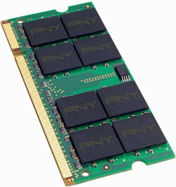 2GB Optima DDR2 667 MHz PC2-5300 Notebook SODIMM Memory Module MN2048SD2667