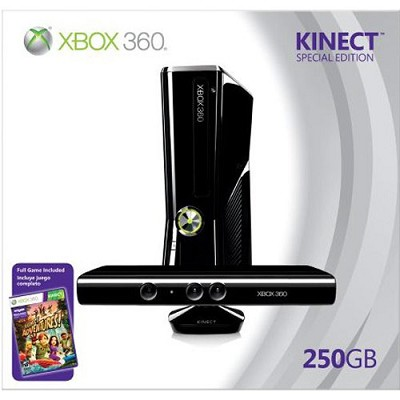 Xbox 360 System - 250GB Kinect Bundle - OPEN BOX