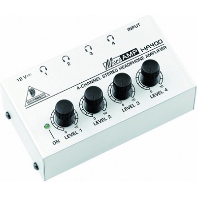 HA400 - 4-Channel Stereo Headphone Amp