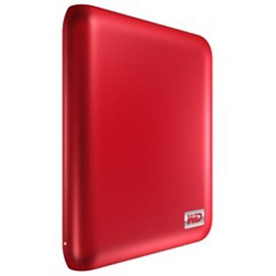 My Passport Essential SE 750GB Portable Hard Drive - Red