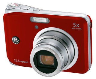 A1250 12.2MP 2.5` LCD 5x Zoom Digital Camera (Red)