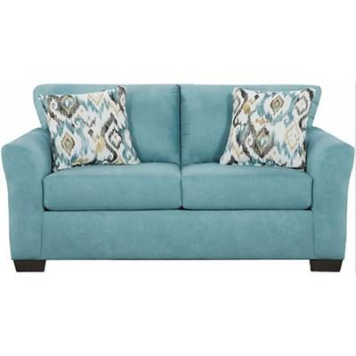 Carlisle Loveseat w/ Accent Pillows 60 W