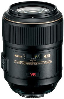 105mm f/2.8G ED-IF AF-S VR Micro-Nikkor Close-up Lens - OPEN BOX
