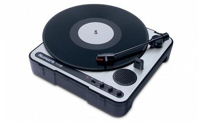 Ion - Numark PT01 Portable DJ Turntable