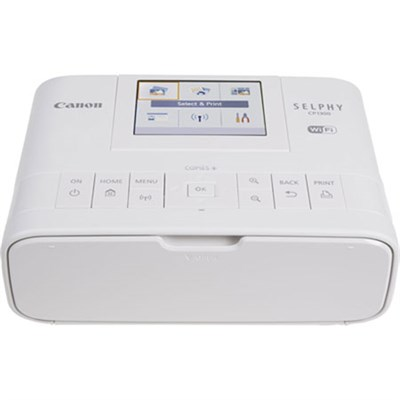 SELPHY CP1300 Wireless Compact Photo Printer with AirPrint (White) - 2235C001
