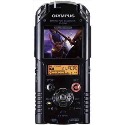 LS-20M Pro Portable Digital Recorder and HD Video Camera - REFURBISHED