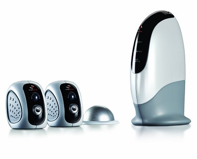 System with 2 Indoor Motion Detection Cameras (SM2700)